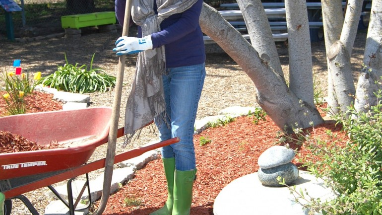 1. Use Mulch and Compost to Create Healthy Soil