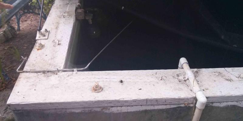 Concrete Cistern