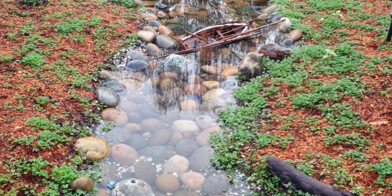 Clean Water in Swale