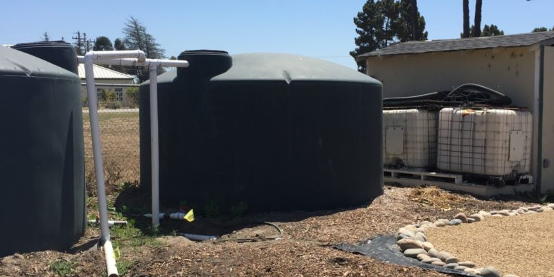 NBHS Stormwater catching system