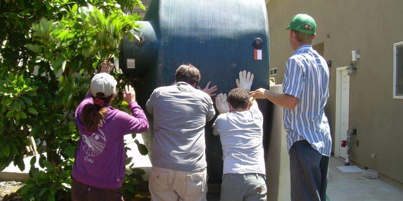 Gateway Rainwater Tank